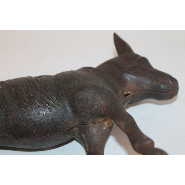 19Thc Donkey Door Stop With Nodder Head For Sale - Image 9 of 10