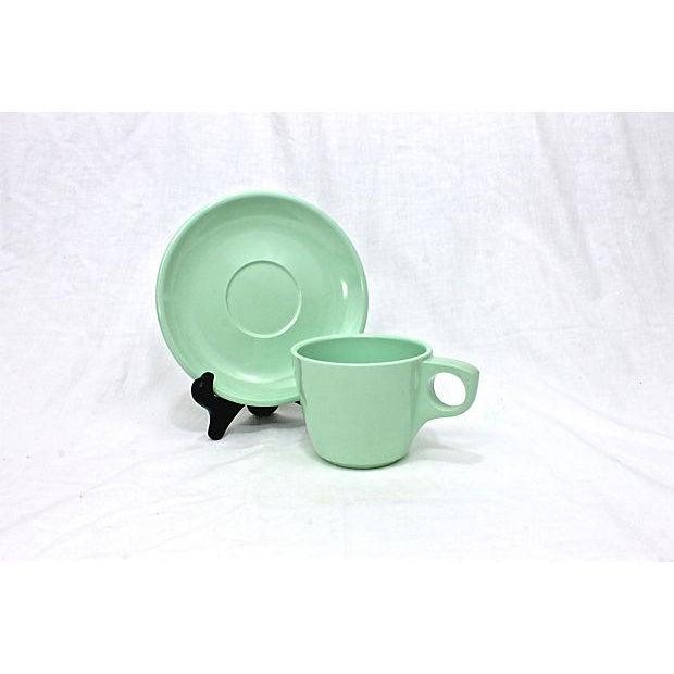 Vintage Boontonware Dinnerware - Set of 4 For Sale - Image 9 of 9