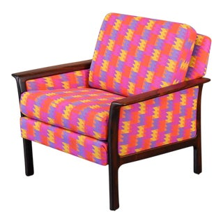 Broderna Anderssons Rosewood Lounge Chair