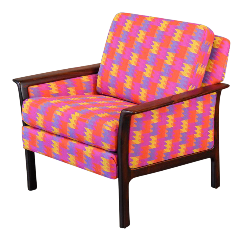 Broderna Anderssons Rosewood Lounge Chair