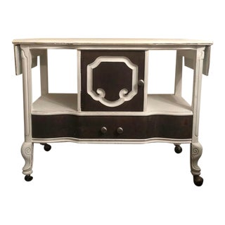 Jacobean Server/Buffet on Wheels For Sale