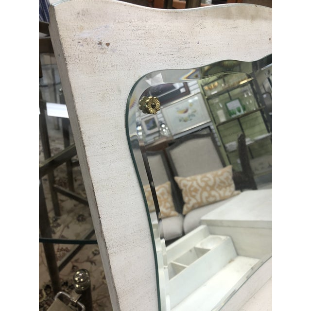 White John Widdicomb French Provincial Vanity & Chair For Sale - Image 8 of 13