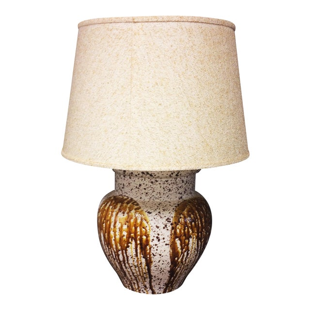 Mid-Century Modern Art Pottery Table Lamp - Image 1 of 11