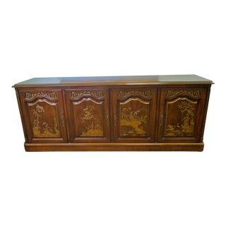 Chinoiserie Style Server Sideboard
