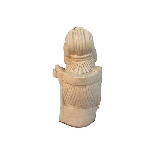 Chinese Ivory Terracotta Buddha Head - Image 3 of 7