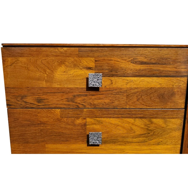 Metal A Mid-Century Modern - Brutalist - Space Age - Wardrobe - Armoire by Henri Valliere For Sale - Image 7 of 10