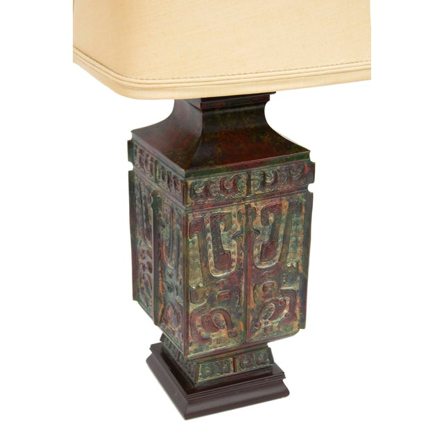 Mid-Century Modern Vintage Table Lamp by Marbro Lighting For Sale - Image 3 of 12