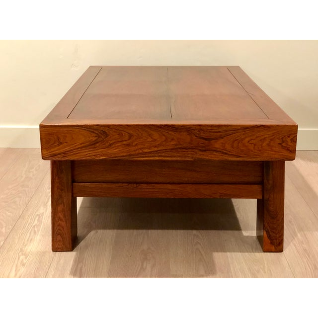 Asian Chinese Huanghuali Rosewood Coffee Table For Sale - Image 3 of 11