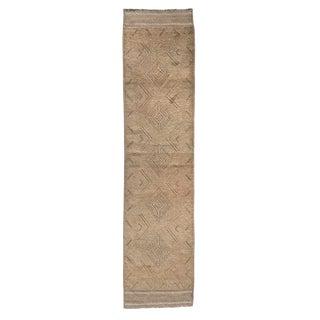 Vintage Gabbeh Runner Rug - 2′ × 8′5″ For Sale
