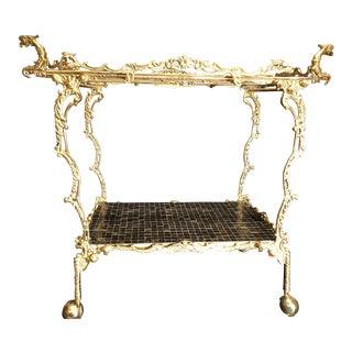 Baroque Style Bar Cart