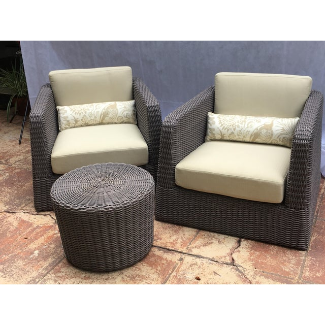 Clarence House Patio Furniture by Janus Et Cie- 3 Pieces For Sale - Image 4 of 12