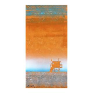 """Tangerine Heat"" Original Artwork by Kathleen Keifer For Sale"