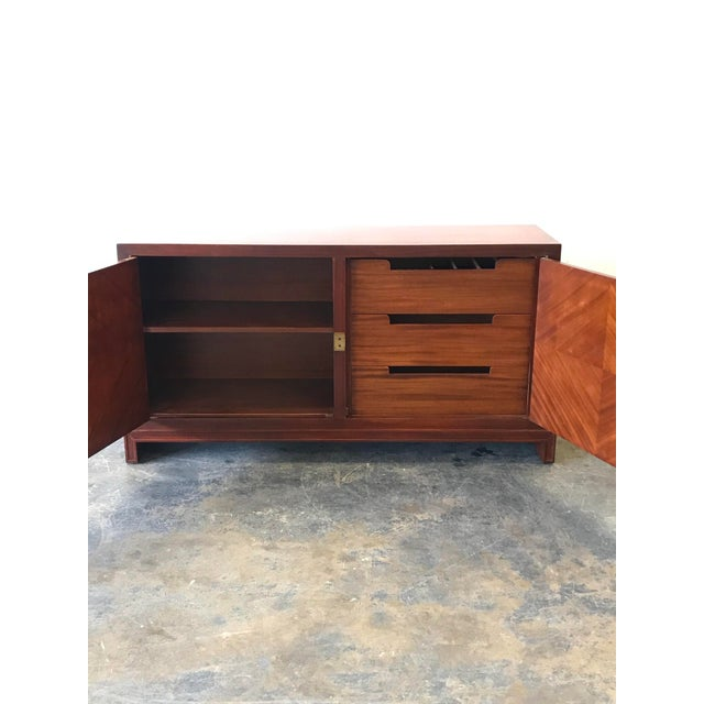 Mid-Century Modern Tommi Parzinger for Charak Modern Sideboard/Credenza For Sale - Image 3 of 12