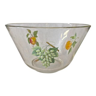 1950's West Virginia Glass Co Fruit Bowl