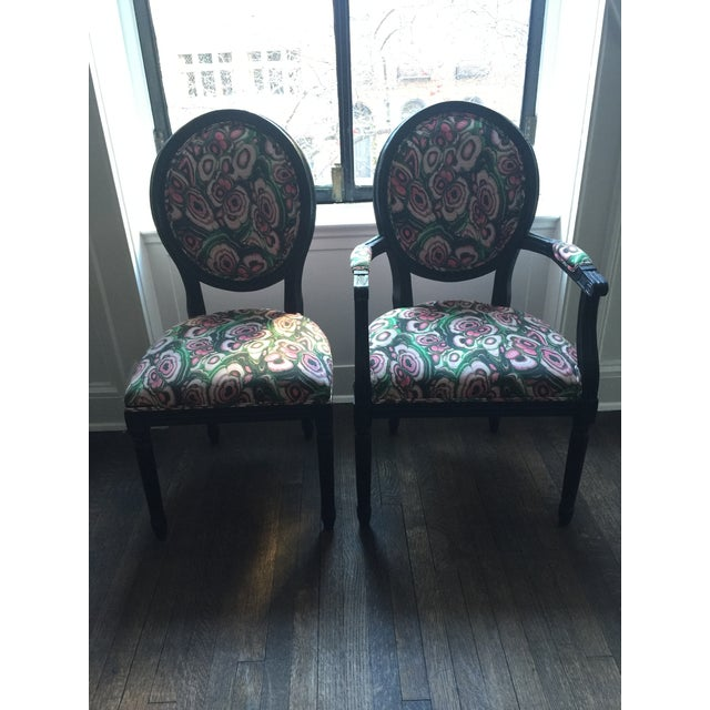 Restoration Hardware French Dining Chairs - Set of 8 - Image 2 of 11