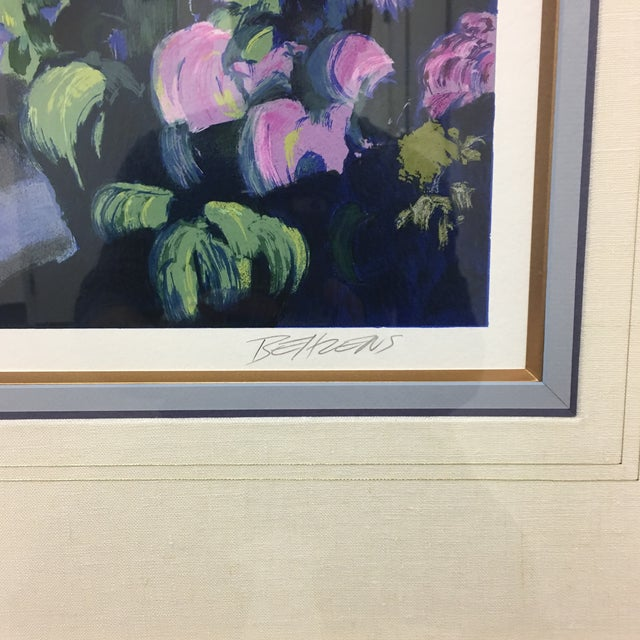 """Design Plus Gallery presents a framed signed serigraph, titled """"Old World Charm"""" by Howard Behrens. Professionally custom..."""