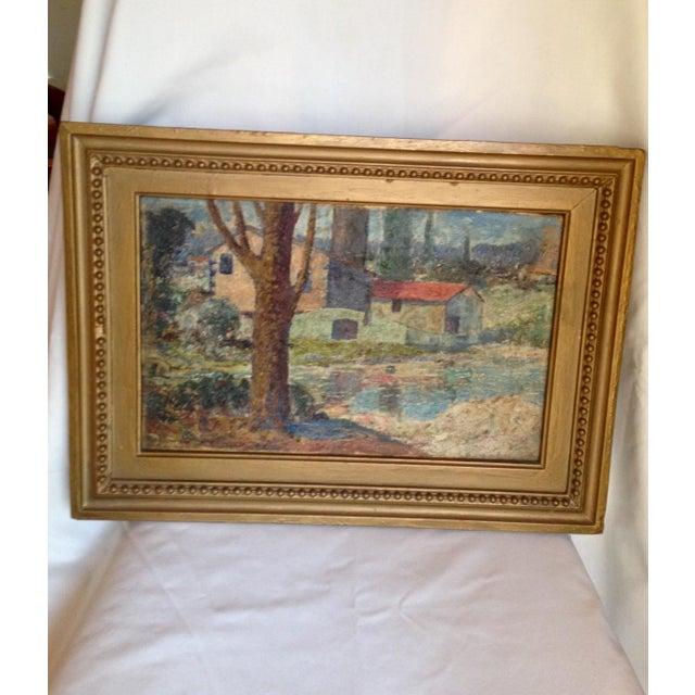 """""""El Arbol"""" Oil Painting by Miles J. Early - Image 2 of 6"""