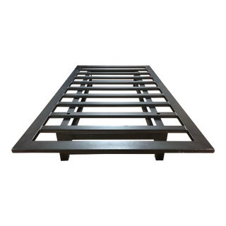 Twin Size Modern Metal Bed Frame From Room & Board For Sale