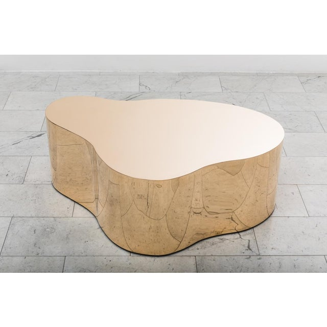 "Karl Springer LTD, Bronze Free Form Low Table ""C"", USA, 2016 For Sale In New York - Image 6 of 13"