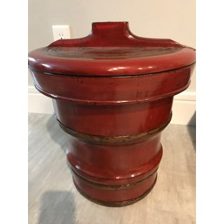 Antique Chinese Rice Bucket Preview