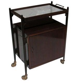 Vintage Art Deco Bar Cart