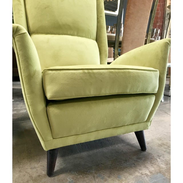Italian Absolutely Fabulous Armchairs by ISA For Sale In Los Angeles - Image 6 of 10