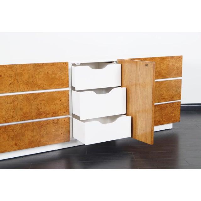 1970s Vintage Burl Wood Dresser by Lane For Sale - Image 5 of 9