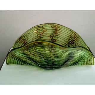 Vintage Murano Clam Shell Centerpiece Bowl Preview