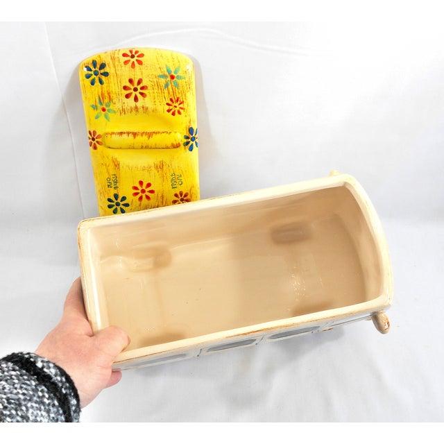 Yellow Hippie Van Ceramic Cookie Jar - Image 10 of 10