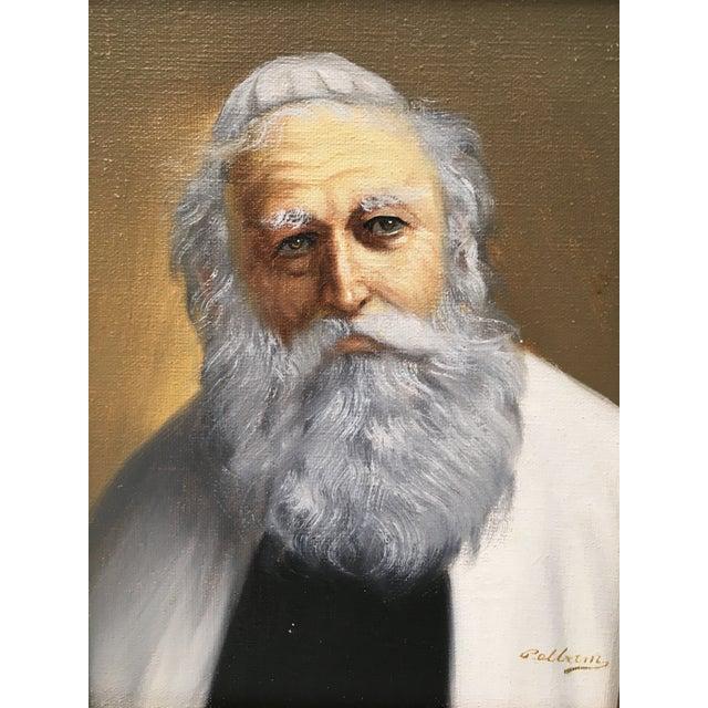 Pelbam Original Signed Oil Painting of Rabbi - Image 3 of 6