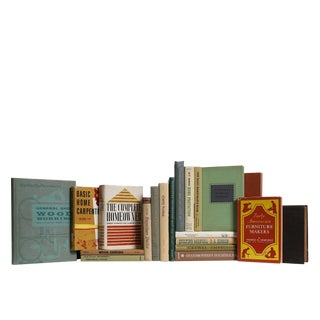 His & Hers Vintage Home Book Set, S/20 For Sale