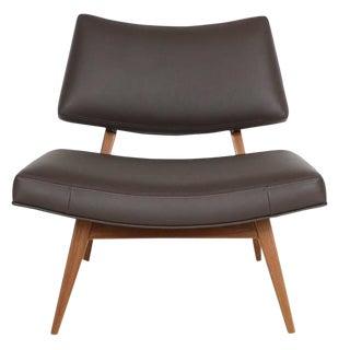 Jari Walnut Slipper Chair For Sale