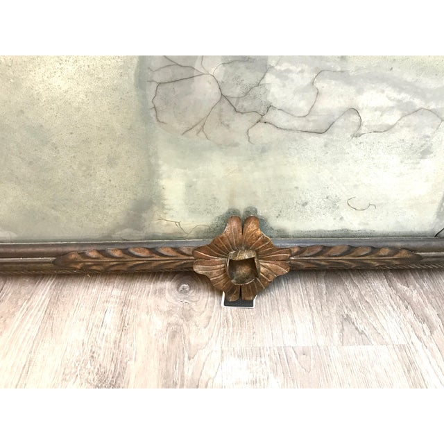 Vintage Custom Wall Mirror For Sale - Image 10 of 13