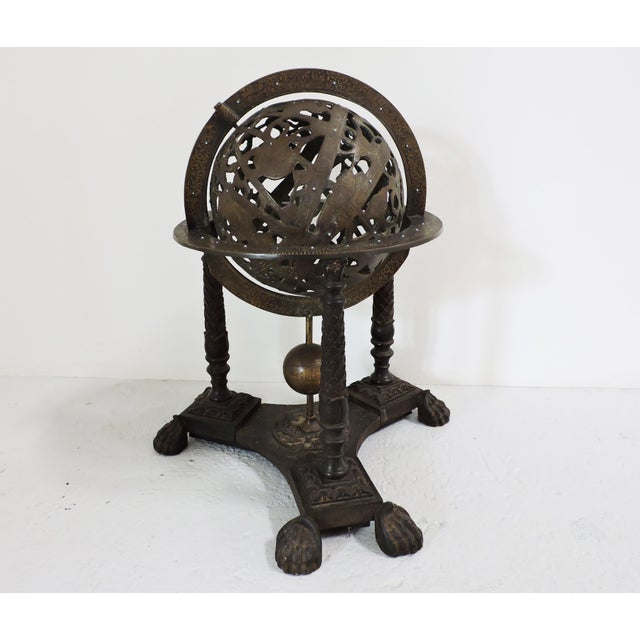 Bronze Small Persian Astrolab For Sale - Image 7 of 7