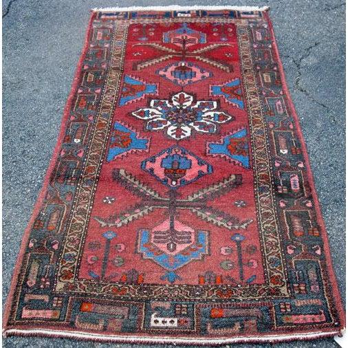 Persian Asad-Abad Hamedan Carpet - 4′ × 7′ - Image 2 of 6