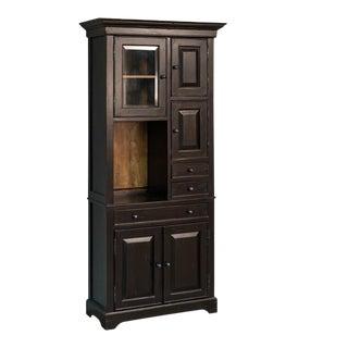 Sarreid Ltd Pantry Walnut Cupboard For Sale