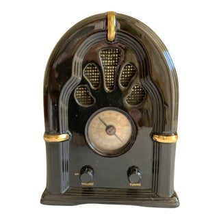 Retro Ceramic Old School Radio For Sale