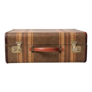Vintage Stripe Suitcase