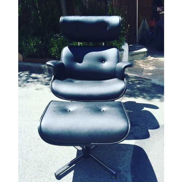 Fully Restored Plycraft Eames Lounge With Ottoman - Image 6 of 9