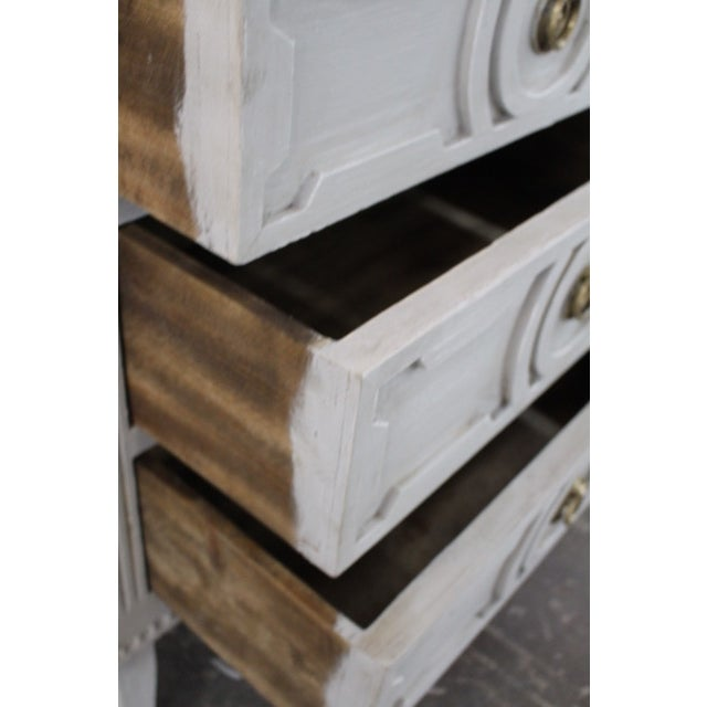 20th Century Swedish Gustavian Style Nightstands - a Pair For Sale - Image 9 of 12