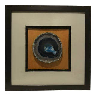 Blue Agate Gallery Wall Art For Sale