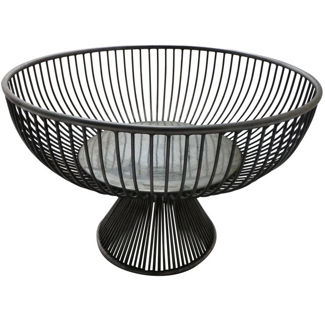 Warren Platner Style Mid Century Fruit Basket - Image 1 of 11