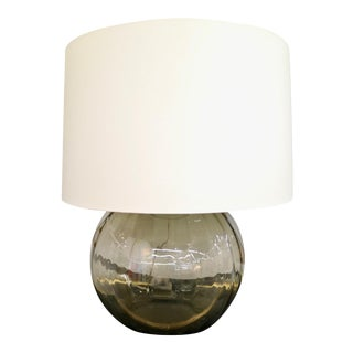 Huge Smoke Glass Lamp For Sale