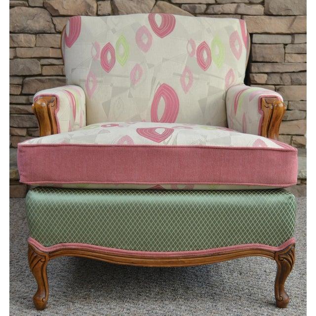 Mid-Century Gardenia Armchair For Sale - Image 4 of 4