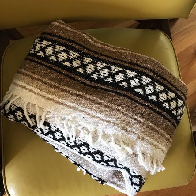 Mexican Boho Serape Blanket - Image 6 of 7