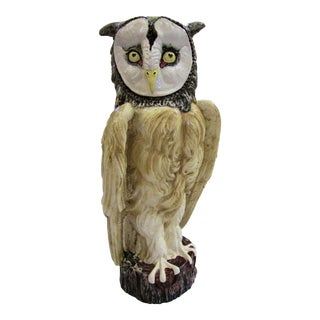 Vintage Ceramic Owl For Sale