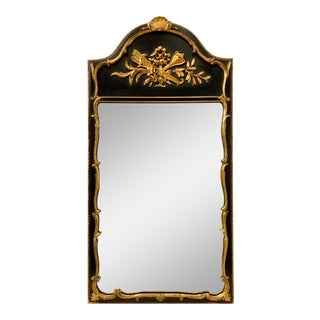 Friedman Brothers Gilt Italian Shell Mirror For Sale
