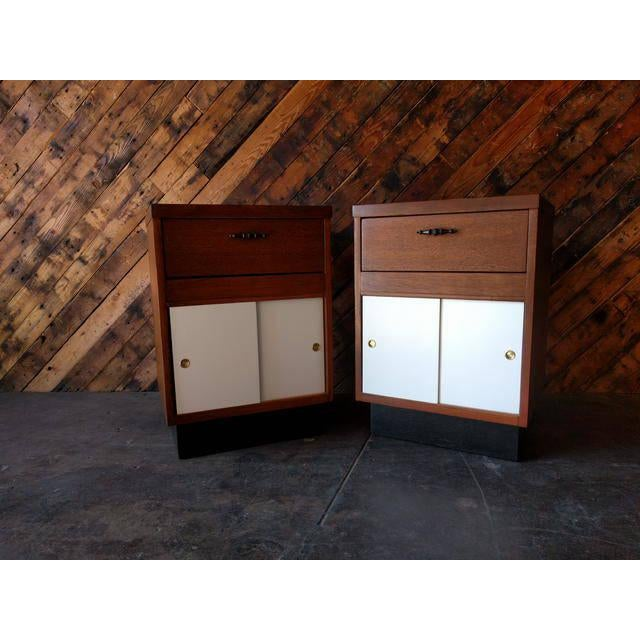 1950's Refinished Bedside Tables - A Pair - Image 7 of 7