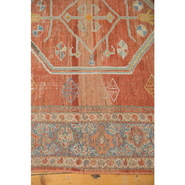 "Vintage Distressed Mahal Carpet - 6'5"" X 9'2"" For Sale - Image 10 of 13"