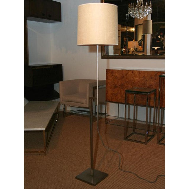Laurel Modernist Adjustable Floor Lamps - a Pair For Sale - Image 9 of 9